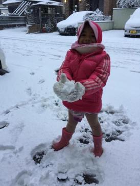 Ini lho salju lembut ituuuh!