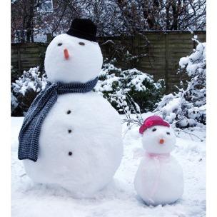 """bikin boneka salju enaknya pas """"wet snow"""""""